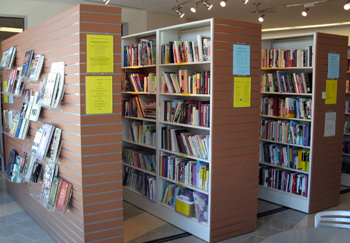... Over 2500 Almost New And Used Books, Audiotapes, CDs And DVDs With A  Constant Turnover Of The Inventory. Some Books Are Put In Storage To Be  Used In Our ...